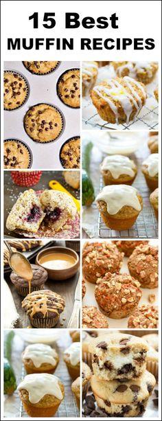 15 Best Muffin Recipes