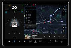 Tesla Model 3のユニークなUIに興味がある?ならばこのモックアップをチェック | TechCrunch Japan