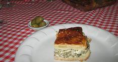 Spanakopia receptje & görög emlékek Spanakopita, Tiramisu, Ethnic Recipes, Food, Essen, Meals, Tiramisu Cake, Yemek, Eten