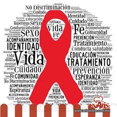 ¡Di no a la discriminación! Hagamos conciencia y unámonos para prevenir esta enfermedad y no discriminar a quien la padece. #DiaMundialSida #VIH