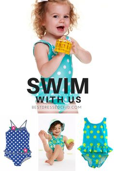 Girls Swimsuits, Bathing Suits & Bikinis for Toddler & Baby Swimsuits, Bikinis, Swimwear, Swimsuit Edition, Bathing Suits, Infant, Swimming, Baby, Style