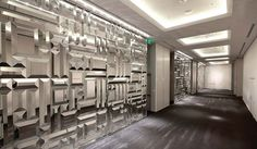 who manufactured the beveled mirror walls in st regis bal harbour - Google Search