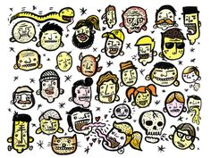 Faces & Stuff by Greg Christman