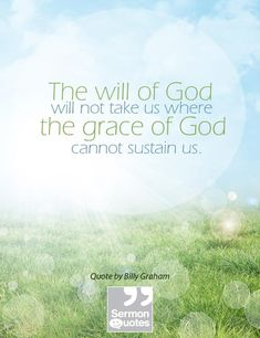The Will of God and the Grace of God