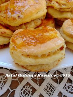 Pogačice sa čvarcima-starinski - Scones with cracklings-old recipes