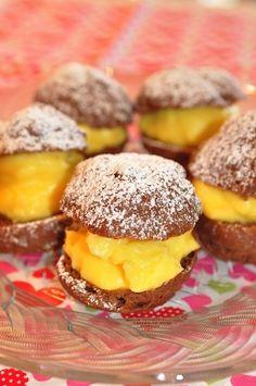 レモンカスタードのチョコシュークリーム by ロッキンさん | レシピ ...