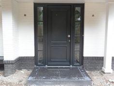 35 Best ideas home decored entryway entrance front doors House Exterior Color Schemes, Exterior Colors, White House Interior, Front Door Entrance, Front Doors, Home Studio Music, Outdoor Paint, Modern Loft, Main Door