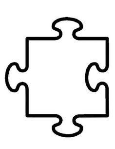 We All Fit Together: A Fun Community Building Activity for Your Students! Puzzle Peice, Puzzle Piece Template, Puzzle Piece Crafts, Puzzle Art, Community Building Activities, Autism Crafts, Cool Art Projects, Planner Layout, Silhouette Cameo Projects