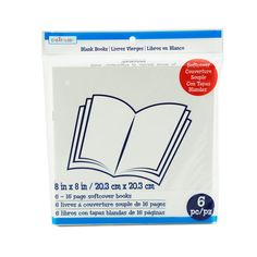 "8"" x 8"" Softcover Blank Books by Creatology™"