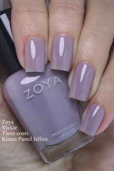 Zoya Kisses Pastel Jellies Collection, Swatches and Review
