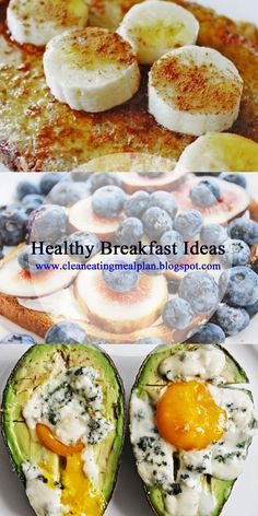 Healthy Breakfast Ideas  from Clean Eating & Weight Loss Meal Plan Blog. #cleaneating #cleaneatingdiet #weightloss #weightlosshelp #dietmealplan