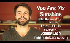 You Are My Sunshine - Easy Beginner Ukulele Song - How to play Ukulele G...