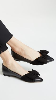6464b2ce5359a The Daily Hunt: Striped Mules and More. Pointed FlatsMinimalist ShoesPretty  ShoesBallet ...