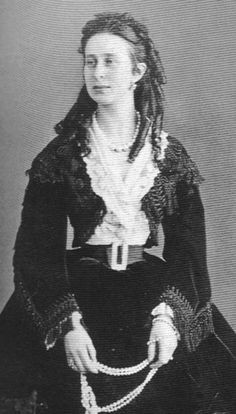 """Alexandra of Saxe-Altenburg, Grand Duchess of Russia  Born: 1830  Daughter of: Joseph (1789-1868) & Amelie of Wurttemberg  Married: Konstantin Nikolaivich (1827-1892)  Children: Nikola, Olga, Vera, Konstantin, Dmitri, Viascheslav  Died: 1911  """"She takes the place of a spoil child in the family and they treat her frequent tactlessness and lapses of behaviour as a jolly prank."""" (Anna Tyucheva)"""