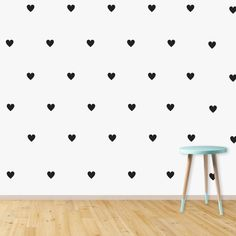 Vinyl decals and graphics for your home, window or vehicle. Wall prints for your home, nursery or children's bedroom Wall Prints, Vinyl Decals, Hearts, Nursery, Bedroom, Image, Design, Home Decor, Decoration Home