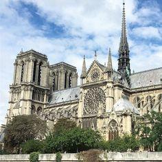 Mythique Notre Dame de Paris. #paris #france #iamparis #weareparis