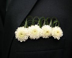 pocket boutonniere flowers | Floral Pocket Squares — Boutonniere Alternative For Proms ...
