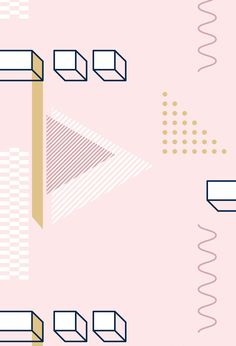 💘 Strong, bold and fierce geometric shapes in a feminine color palette but at the same time versatile vector elements that can be utilized in so many ways! They are fully editable (through Adobe Illustrator) and all elements are vectors. Pastel Background, Geometric Background, Background Patterns, Geometric Shapes, Fashion Background, Backgrounds Wallpapers, Aesthetic Wallpapers, Cute Wallpapers, Vector Pattern