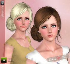"""Hair Fashionista 11"" by Ulker.  Subscriber only.  Female for Teen and up.  Single item."