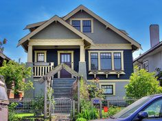 The Campbell House is a two-story, wood frame house of Craftsman design located on the south side of Pandora Street between Slocan and Kaslo Streets, in the Hastings neighbourhood in the northeast part of Vancouver. Built in 1927.
