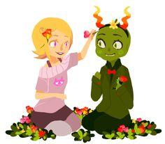 Roxy and Calliope ;;v;;