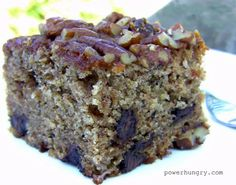 Healthy Desserts Ideas : One-Bowl Banana Buckwheat Cake (gluten-free) Gluten Free Cakes, Gluten Free Desserts, Gluten Free Baking, Healthy Baking, Gluten Free Recipes, Dessert Recipes, Picnic Recipes, Baking Desserts, Cake Baking