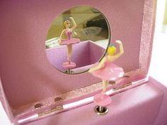 Ballerina jewelry box.