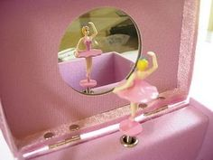 Still have my ballerina jewelry box.