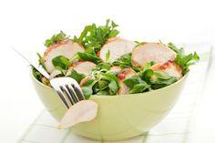Salade de poulet et cresson
