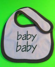 Elegantbaby Pink & Brown Bib, Girls, Baby Baby  #Elegantbaby #VelcroTieBibs