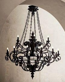 Кованый светильник №123