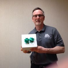 Meet Kyle... Kyle Koke, Fort Worth Community Credit Union, who won our door prize at the Fort Worth Chapter of Credit Unions Golf Tournament in Oct, 2015.