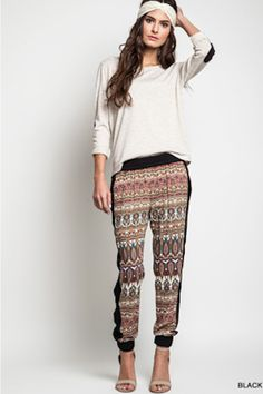 Tribal Fever Joggers