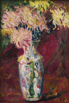 Louis Valtat, Bouquet de Dahlias