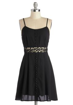 Intrepid Elegance Dress. Love the cut out in the middle and the lace over it. Perfect summer dress #ModCloth