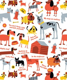 Dogs by Ed Miller Design, via Behance