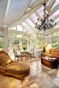 beautiful sunroom....