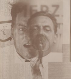 El Lissitzky, born today in made this image of fellow artists Kurt Schwitters and Jean Arp by montaging negatives during the development process. Kurt Schwitters, Sophie Taeuber, Dada Artists, Houston, Jean Arp, Photographic Film, Russian Painting, Positive Images, Gelatin Silver Print