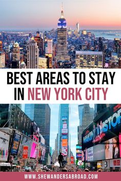 Wondering where to stay in New York City? Here are the top 10 best areas to stay in New York City with useful information and pros and cons for each area! | USA travel tips | New York travel tips | Best hotels in New York | Best hotels in NYC | Where to stay in NYC | Best places to stay in NYC | Best places to stay in New York | NYC hotels | Best neighborhoods in to stay in NYC | Best areas to stay in NYC | Best neighborhoods stay in New York City | NYC neighborhood guide | Where to stay in… New York Travel, Usa Travel, Travel Tips, Nyc Hotels, Best Hotels, Visit New York City, Concrete Jungle, Travel Inspiration, The Neighbourhood