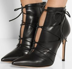 These just made me weak!! #shoefreek July 2015 Shoes Part Six: 20 Amazing Designer Boots, Pumps, and Sandals