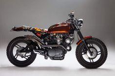 Yamaha XV750 – The Dirty Mexican