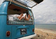 VW CAMPER VAN LOVE A3 PICTURE ART POSTER PRINT GZ258