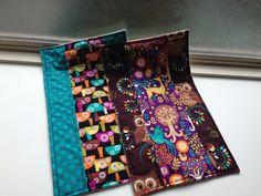 Flannel and designer cotton burp rags
