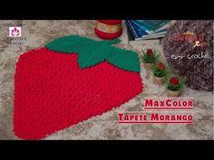 Tapete Morango Barroco MaxColor – Vídeo Passo a passo | Blog Tricolinhas.com.br