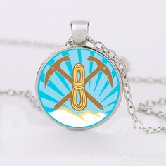 Mountaineering Cabochon Necklace – Synonyco.com