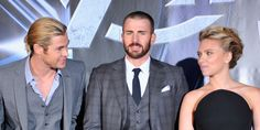 Variety reports that Scarlett Johansson, who plays Black Widow in the Marvel movie universe, is making just as much money as Chris Hemsworth (Thor) and Chris Evans (Captain America).