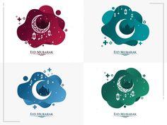 Eid Mubarak Liquid by Faruki Vackoth