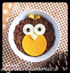 Woodland Owl Chili :: perfect fall meal