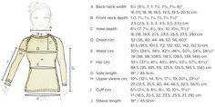 Sweater schematics:  Seamless sweater