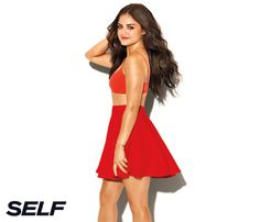 """Lucy Hale's Secrets to Happiness: What She'd Like to Change. """"I always wish I was a little bit taller. Maybe 2 inches to make it to 5 foot 4. I'll take whatever I can get."""" #SelfMagazine"""